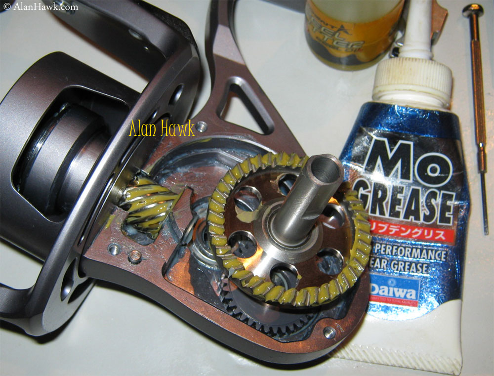 Van staal vm275 for Fishing reel grease